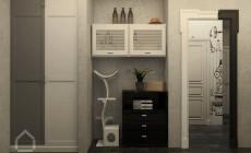 Дизайн прихожей проект 3-х комнатной квартиры