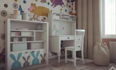 Дизайн детской комнаты для 2 детей