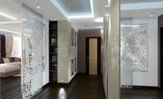 Прихожая и коридор 10 кв. м, стиль эклектичный