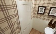 Туалет 2 кв. м в современном стиле