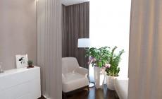 Спальня 17 кв. м в современном стиле