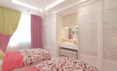 Детская комната 15 кв. м в современном стиле