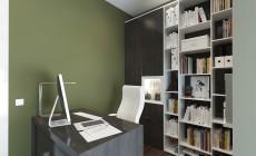 Рабочий кабинет 11 кв. м в современном стиле