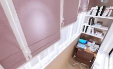Гостиная с балконом в современном стиле