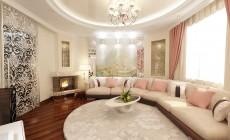 Гостиная в трехкомнатной квартире