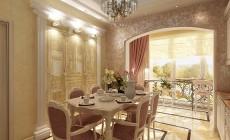Кухня в трехкомнатной квартире