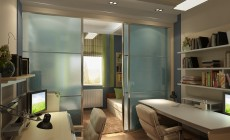 Детская комната 20 кв. м в четырехкомнатной квартире