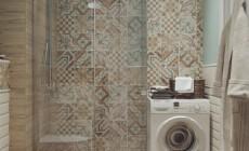 Ванная комната 6 кв. м в современном стиле