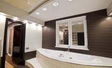 Ванная комната 12 кв. м в современном стиле