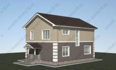 Проект дома 9х11 площадью 150 кв.м.