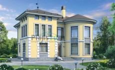 Проект кирпичного дома 37-30