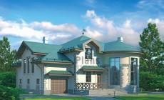 Проект кирпичного дома 37-35