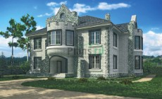 Проект кирпичного дома 37-40