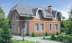 Проект кирпичного дома 37-41