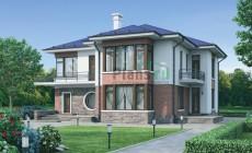Проект кирпичного дома 37-43