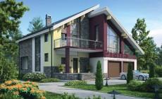 Проект кирпичного дома 37-50