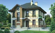 Проект кирпичного дома 37-54
