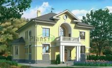 Проект кирпичного дома 37-57
