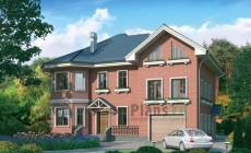 Проект кирпичного дома 37-66