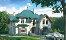 Проект кирпичного дома 37-70