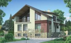 Проект кирпичного дома 37-71