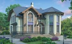 Проект кирпичного дома 37-72
