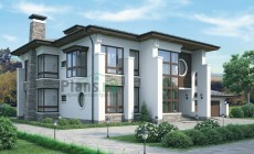 Проект кирпичного дома 37-73