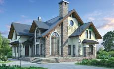 Проект кирпичного дома 37-75