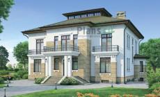 Проект кирпичного дома 37-77