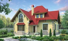 Проект кирпичного дома 37-79