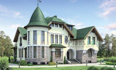 Проект кирпичного дома 37-80