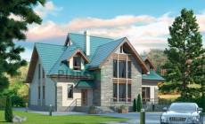 Проект кирпичного дома 37-84