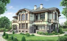 Проект кирпичного дома 37-86