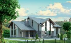 Проект кирпичного дома 37-87