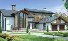 Проект кирпичного дома 37-88