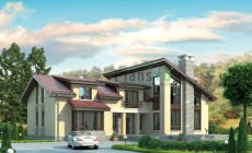 Проект кирпичного дома 37-91