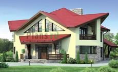 Проект кирпичного дома 37-92