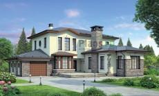 Проект кирпичного дома 37-93