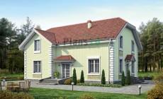 Проект кирпичного дома 37-94