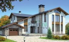 Проект кирпичного дома 37-96