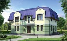 Проект кирпичного дома 37-97