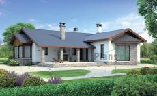 Проект кирпичного дома 37-98