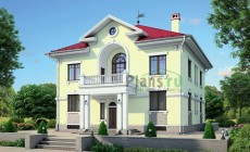 Проект кирпичного дома 38-00