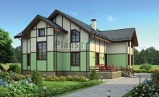 Проект кирпичного дома 38-03