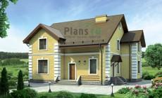 Проект кирпичного дома 38-05