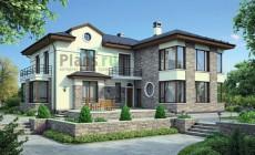 Проект кирпичного дома 38-07