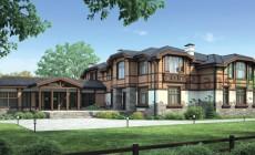 Проект кирпичного дома 38-11