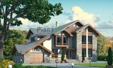 Проект кирпичного дома 38-16