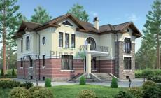 Проект кирпичного дома 38-20