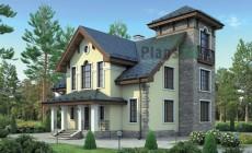 Проект кирпичного дома 38-22